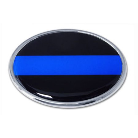 Police Chrome Emblem