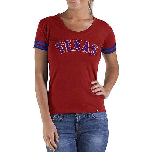 Texas Rangers '47 Women's Showtime T-Shirt - Red