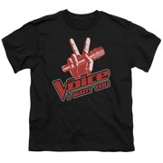The Voice Red And White Big Boys Shirt