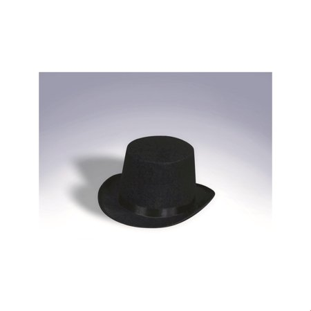 Black Top Hat Halloween Costume Accessory - Top Hat Costume