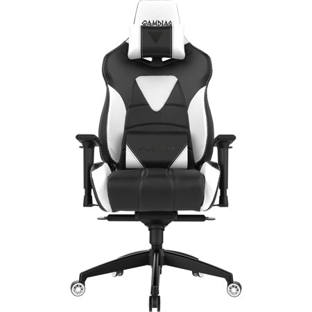 Swell Gamdias Achilles M1 L Professional Ergonomic Gaming Chair With Rgb Lights 3 Direction Adjustable Armrest Black White Alphanode Cool Chair Designs And Ideas Alphanodeonline