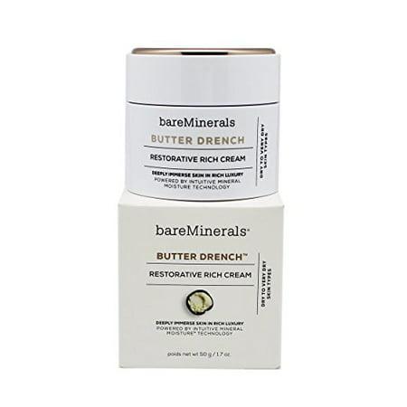 bareMinerals Butter Drench Restorative Rich Cream, 1.7 Ounce