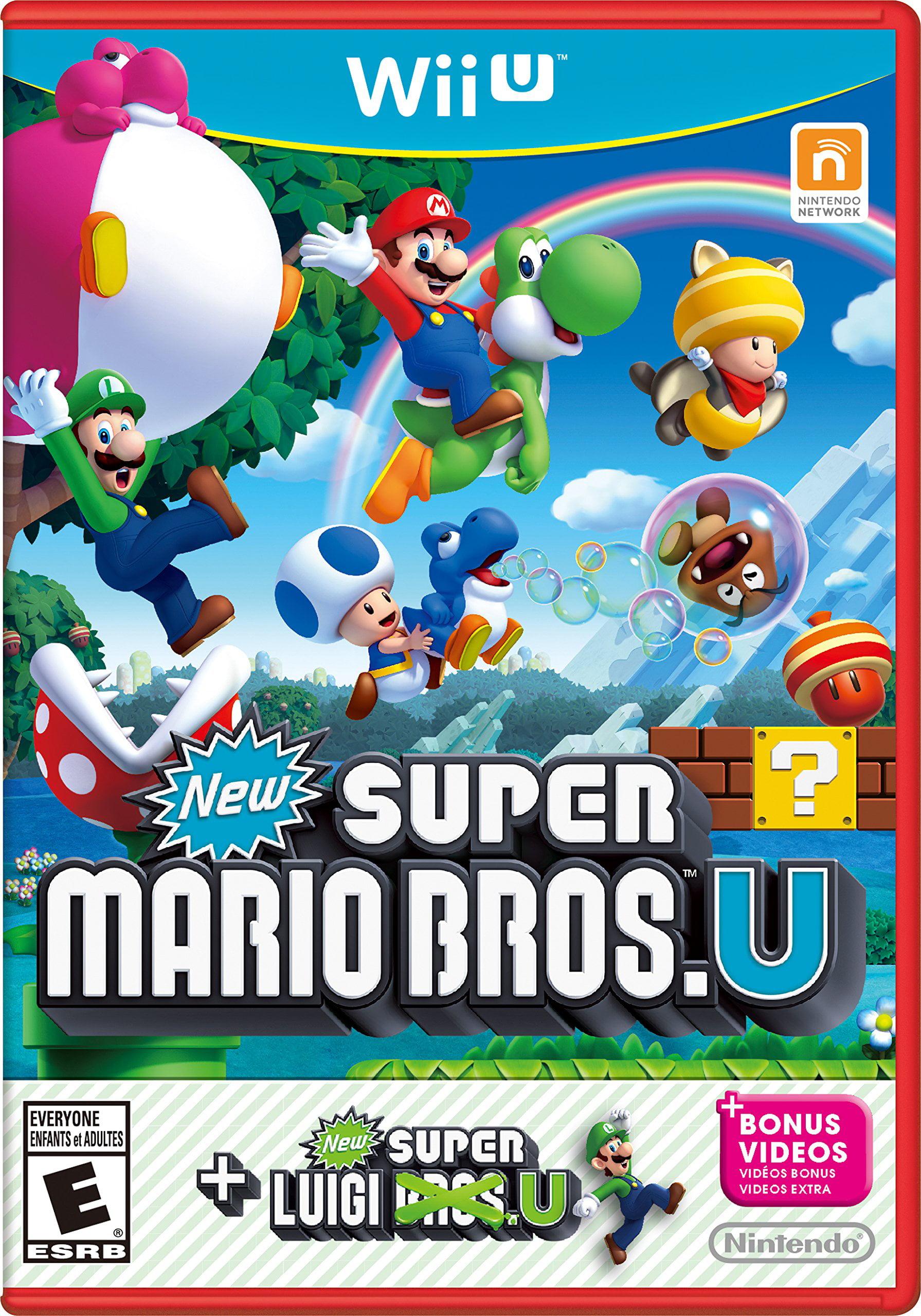 New Super Mario Bros U + New Super Luigi U, Nintendo, Nintendo Wii U, 045496903749