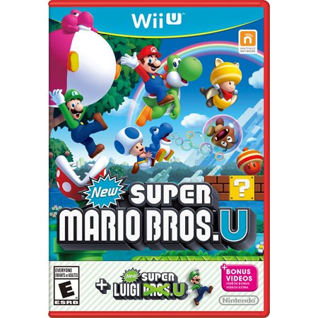 (New Super Mario Bros U + New Super Luigi U, Nintendo, Nintendo Wii U, 045496903749)