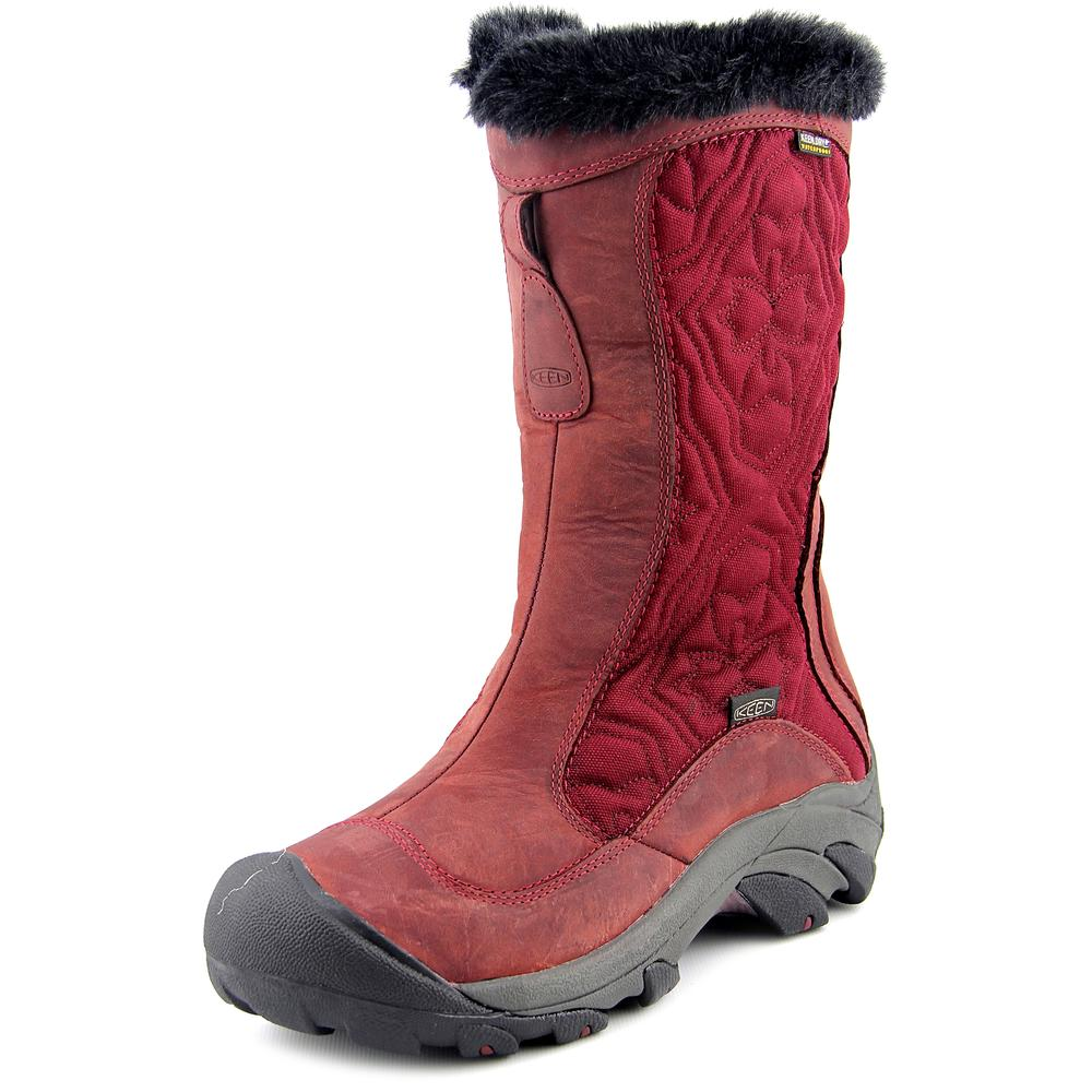Keen Betty Boot II Women  Round Toe Leather Burgundy Winter Boot
