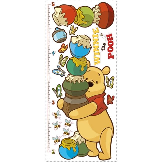 Roommate RMK1501GC Pooh and Friends Growth Chart