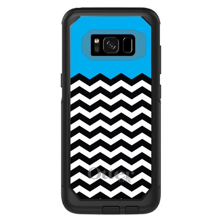 cheaper 69124 3af9f DistinctInk™ Custom Black OtterBox Commuter Series Case for Samsung Galaxy  S8 (5.8