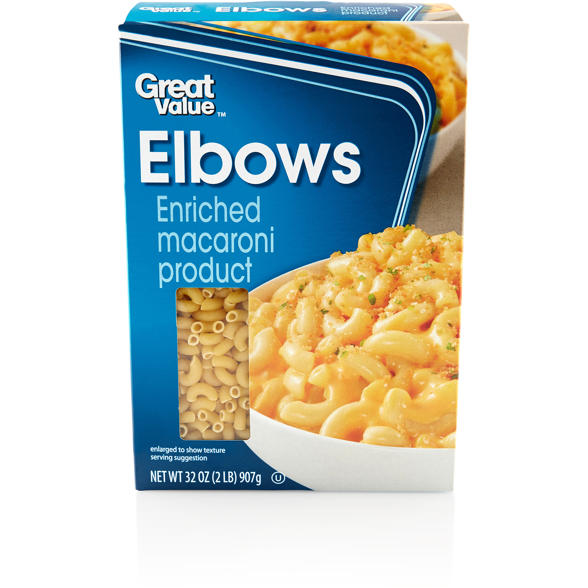 Great Value:  Elbows, 32 Oz