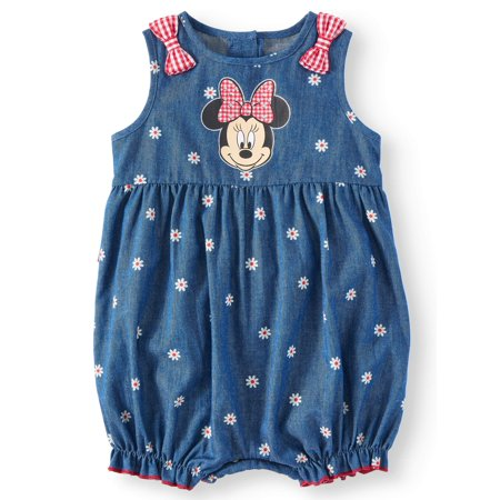 Baby Girl Minnie Mouse Romper (Baby Girl) (Minnie Mouse Baby Accessories)