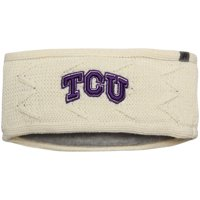 TCU Horned Frogs Top of the World Women's Fleece Lined Headband - Cream - OSFA