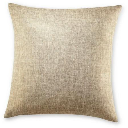 Grove Hill Rustic Metallic Decorative Pillow - Walmart.com