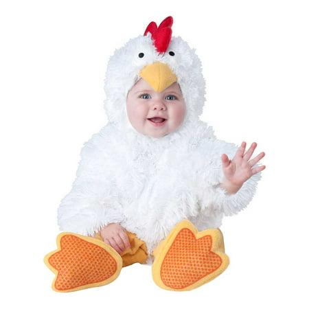 Infant Cluckin' Cutie Chicken Costume by Incharacter Costumes LLC 6058 (Eskimo Cutie Costume)