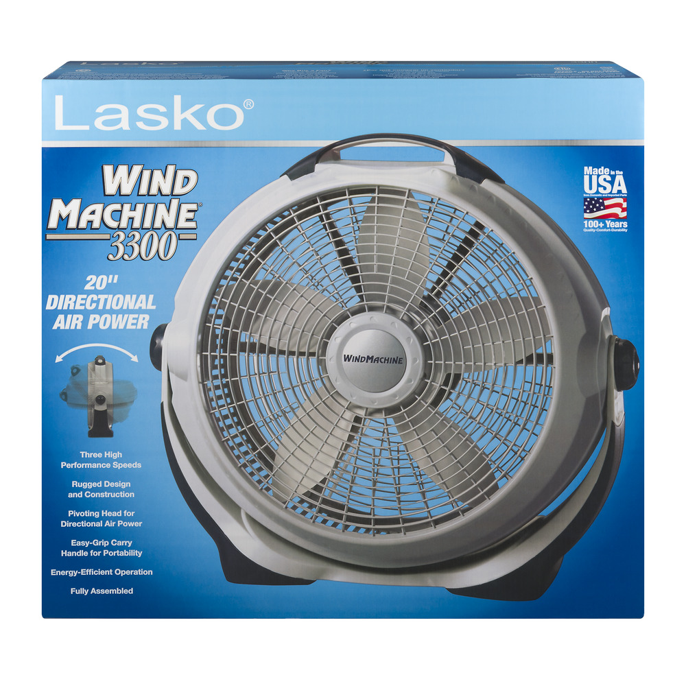 Standing Fans Walmart : Lasko quot wind machine indoor pivoting floor fan pack