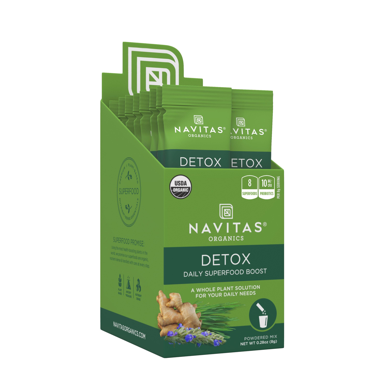 Navitas Organics Daily Detox Boost Stick-Pack, 0.28 oz., 15 ct