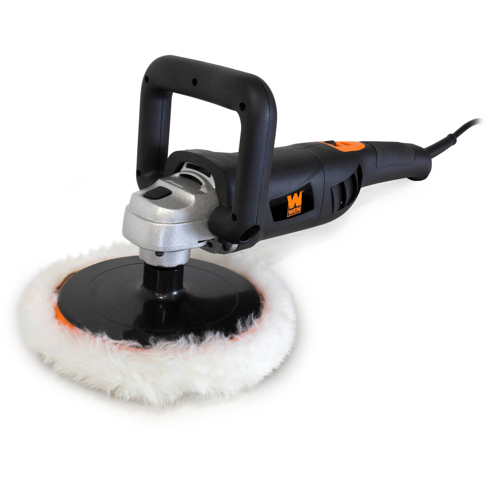 """WEN 10-Amp 7"""" Variable Speed Polisher with Digital Readout"""