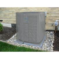 KHOMO GEAR - Titan Series - Waterproof Heavy Duty Outdoor Air Conditioning Cover AC Protector - Grey