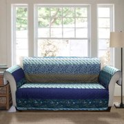 Royal Empire Furniture Protector, Peacock Sofa Couch Cover