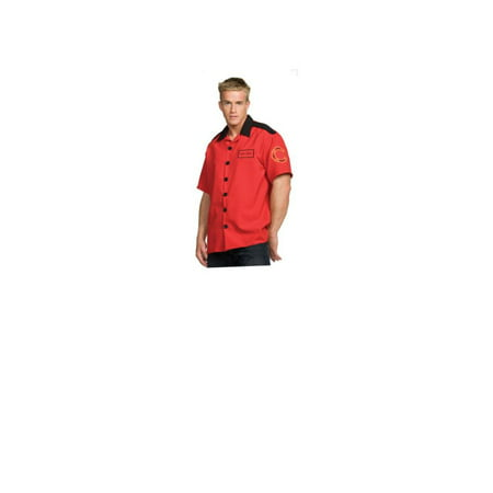 (Fireman Shirt Costume - Adult Costume)