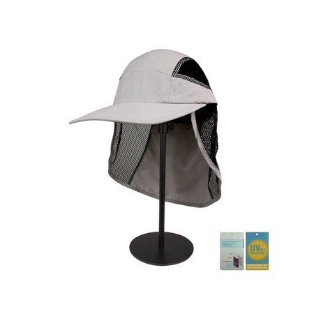 Juniper Outdoor UV Cap with Mesh Flap and Sides