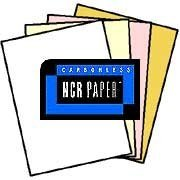 125 Sets of 4 Part NCR Paper White, Canary, Pink, Gold Reverse Collated Letter Size Carbonless Paper 500... by