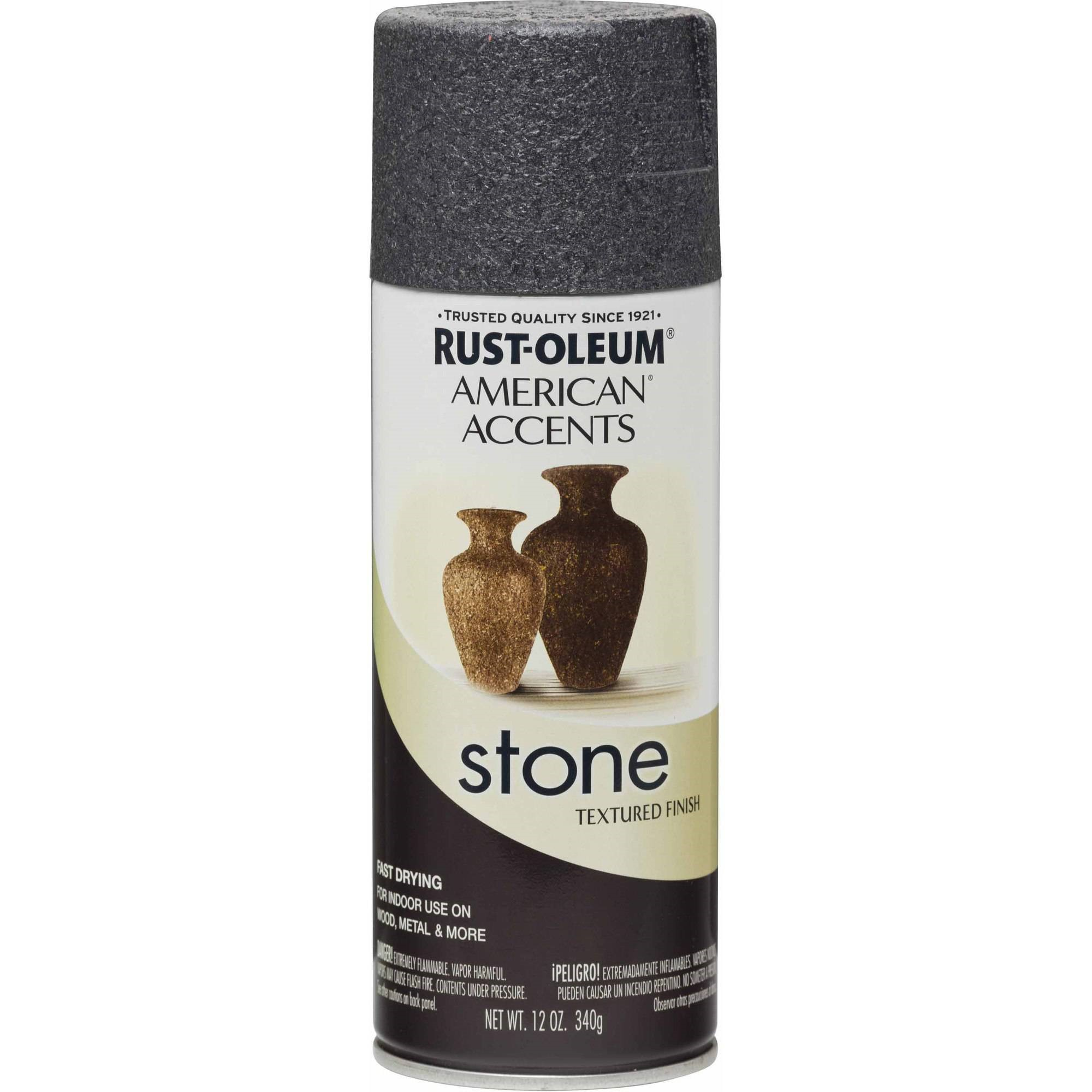 Rust-Oleum American Accents Stone Spray, Slate