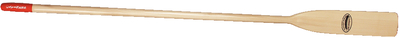 Feather Brand Varnished Wooden Oar with Caviness Power Grip by Caviness