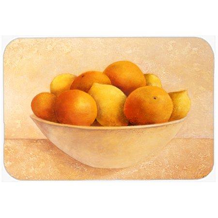 Bowl Lemon Peel - Oranges & Lemons in a Bowl Glass Cutting Board Large
