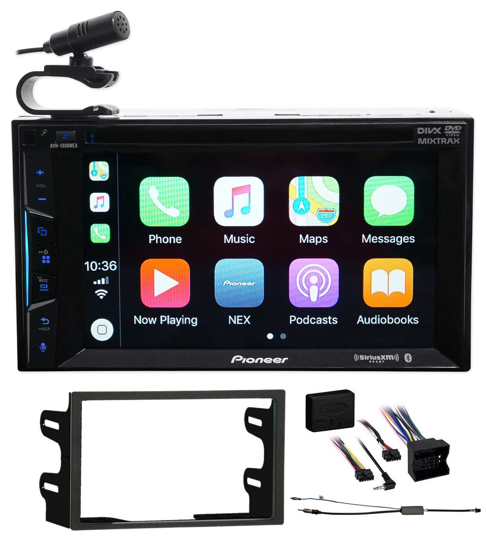 2002 Volkswagen Golf Pioneer Bluetooth DVD Receiver iPhone Android CarPlay by Pioneer
