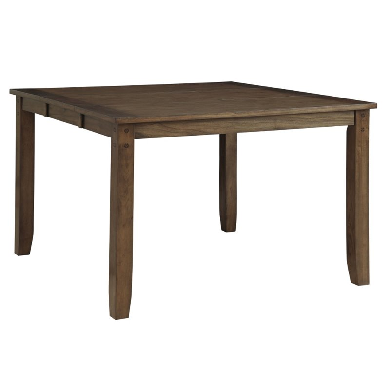 Furniture of America Buffy Counter Height Dining Table in...