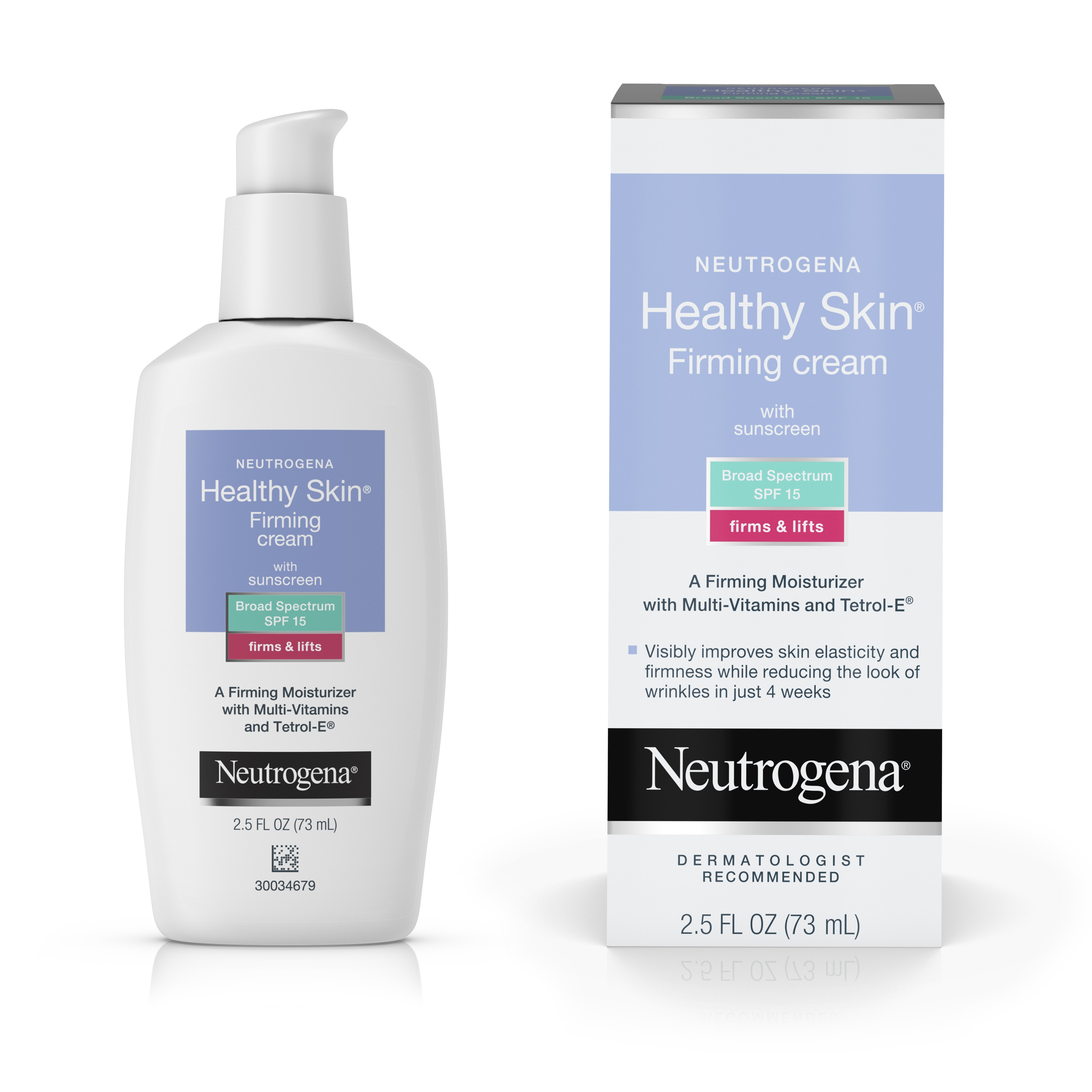 Neutrogena Healthy Skin Firming Face & Neck Cream, SPF 15, 2.5 fl. Oz