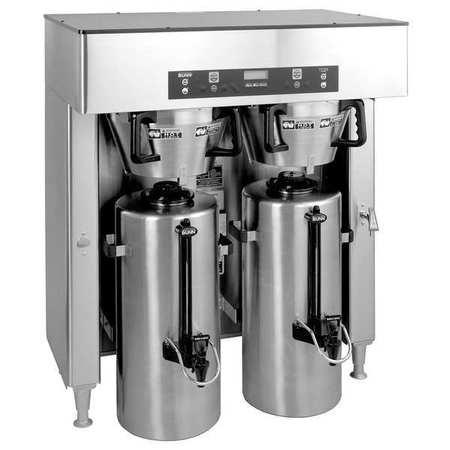 BUNN Dual Coffee Brewer,34.3 gal/hr Titan Dual