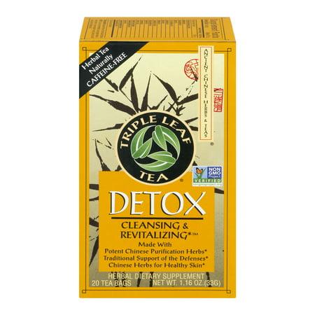 Triple Leaf Tea Detox Tea - 20 CT - Walmart com