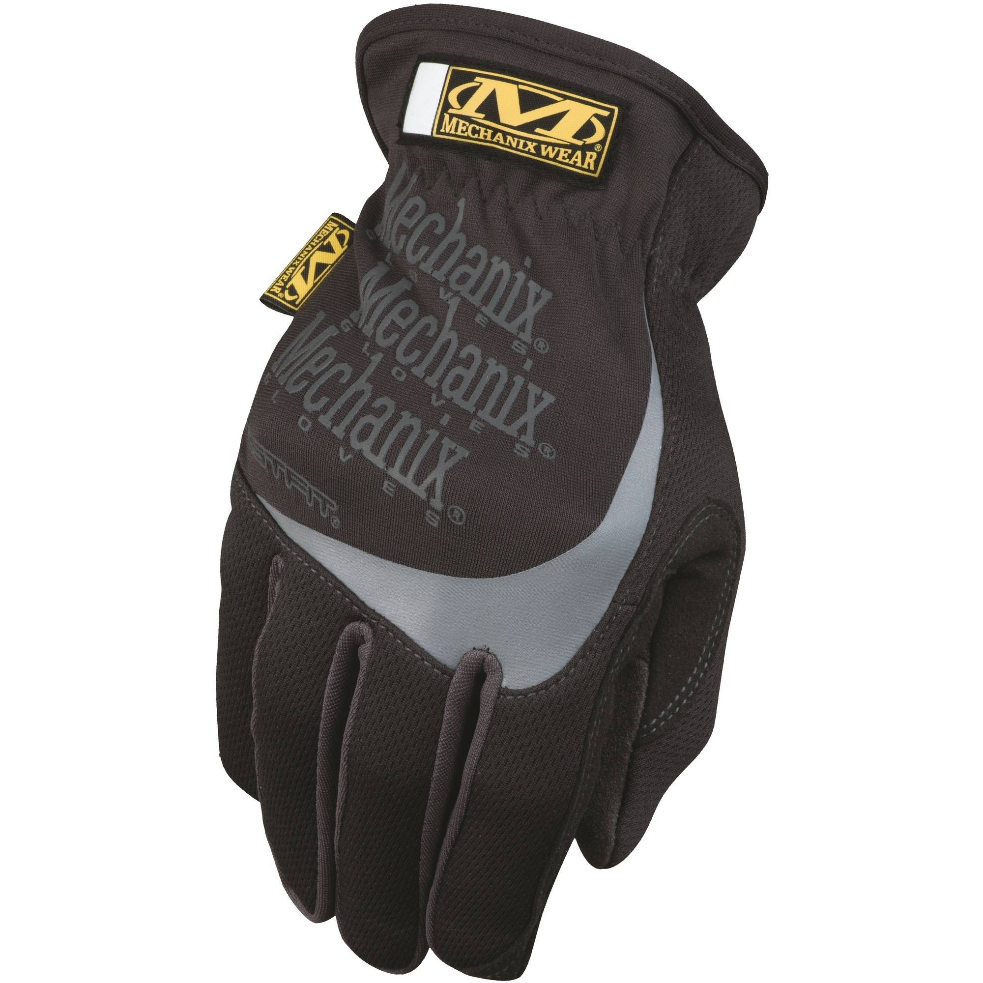 Mechanix Wear FastFit Glove, Black, Size Medium