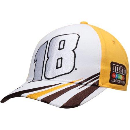 Kyle Busch Big Number Adjustable Hat - White - OSFA