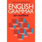 English Grammar: An Outline (Paperback)