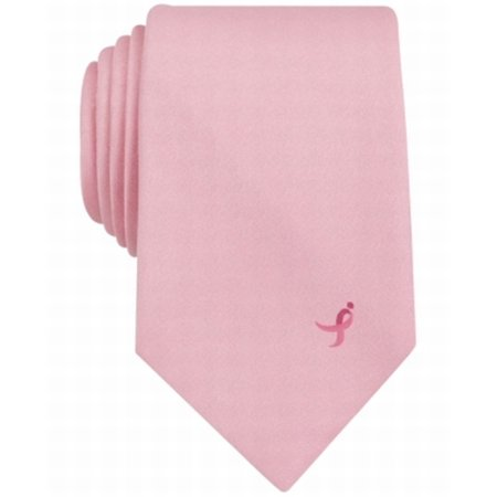 NEW Pink Men's One-Size Breast Cancer Awareness Neck Tie