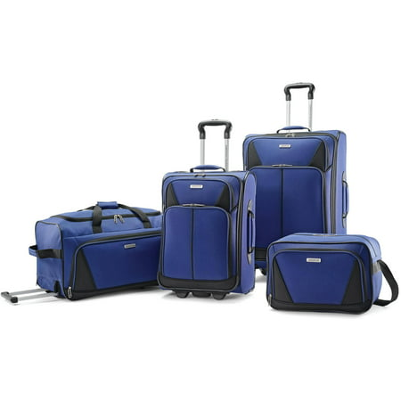 American Tourister 4 Piece Softside Luggage Set