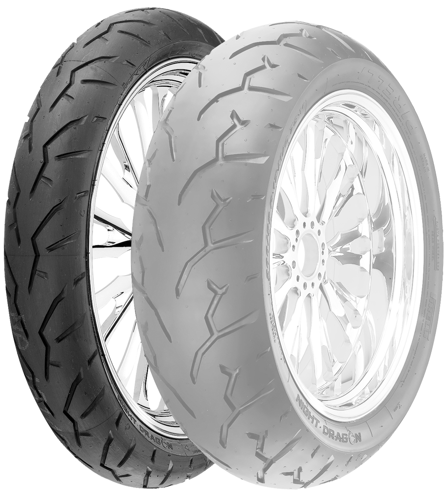 Pirelli Night Dragon Motorcycle Front Tire 90/90-21 1815300