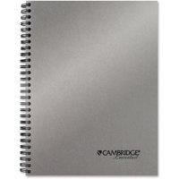 """Mead, MEA45007, Silver 9-12"""" Metallic Notebook, 1 Each"""