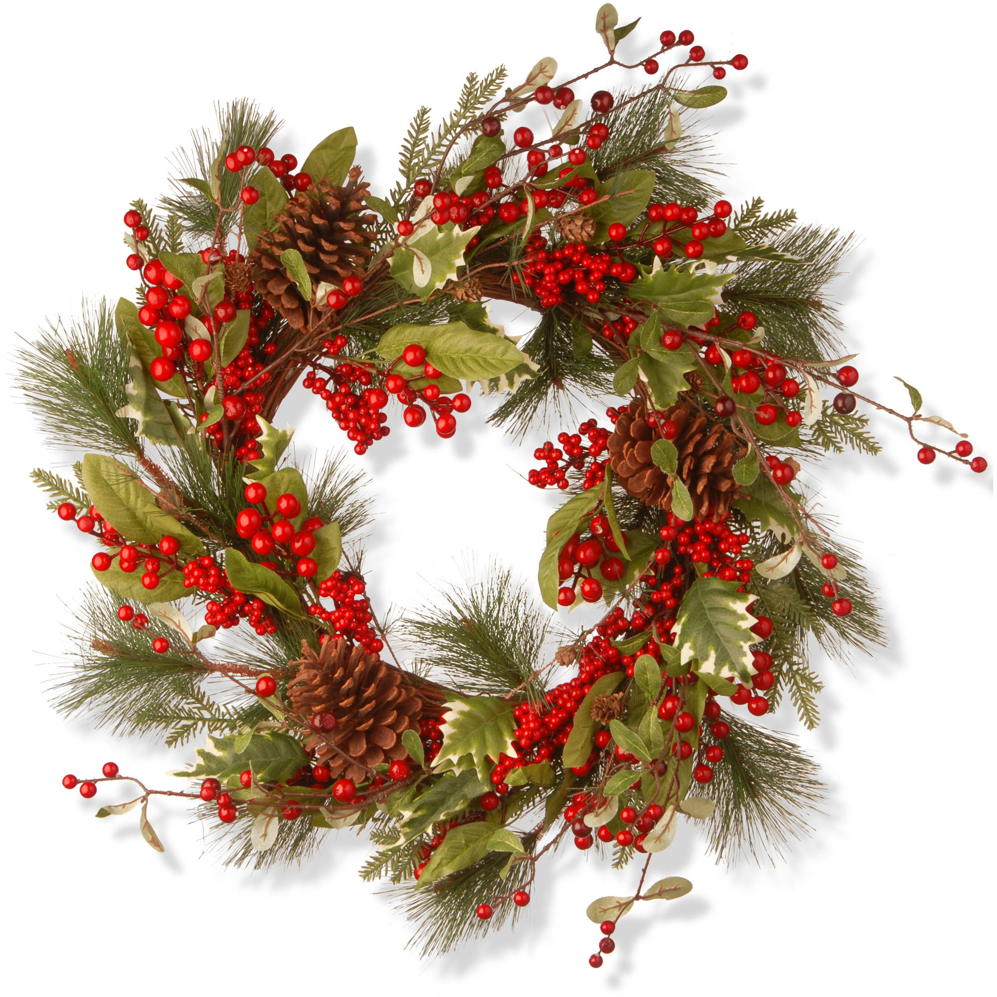 "28"" Red Berry Wreath"