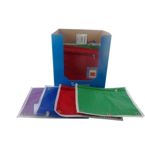 DDI Pencil Case - Nylon - Assorted Colors- Case of 48