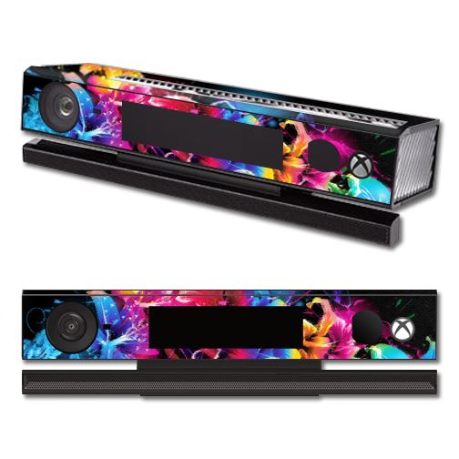 Mightyskins Protective Vinyl Skin Decal Cover for Microsoft Xbox One Kinect wrap sticker skins Bright Life