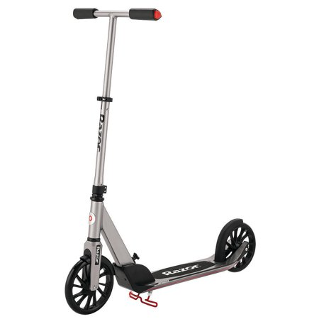 Razor A5 Prime Folding Kick Scooter - Dark Silver