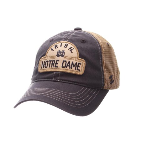 Notre Dame Fighting Irish Trucker Hat Zephyr Mesh Cap - Walmart.com 01bed94b1e8