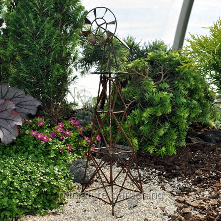 Vertical windmill for miniature garden fairy garden - Vertical gardens miniature oases ...