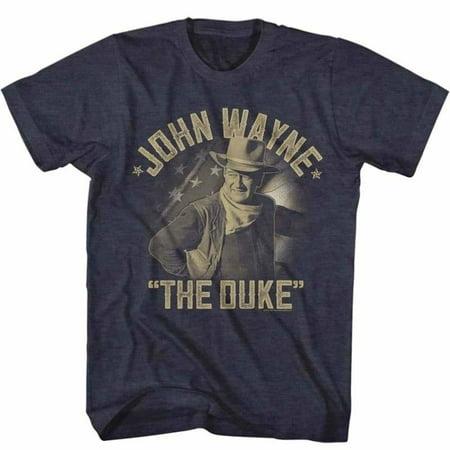 John Wayne Icons Jw The Duke Adult Short Sleeve T - Drake Halloween