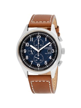 Citizen Men's Eco-Drive Chandler Leather Chronograph Watch CA0621-05L