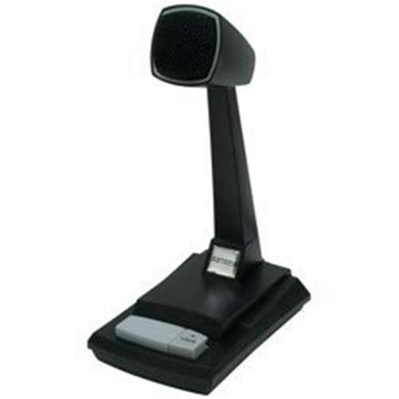 Amplified Ceramic Desk CB Microphone