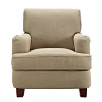 Better Homes & Gardens Grayson Rolled Top Club Chair with Nailheads, Grey Color