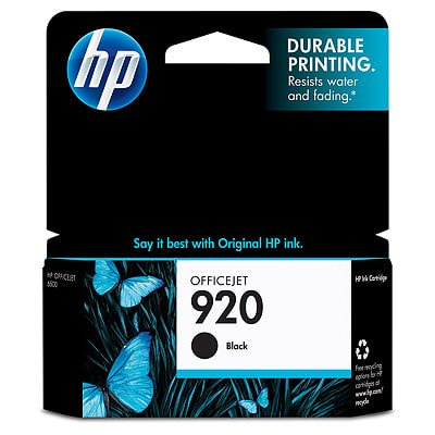 HP 920 Black Original Ink Cartridge ()